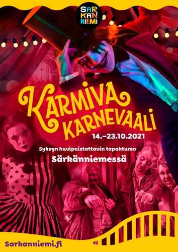 Karmiva Karnevaali Särkänniemessä