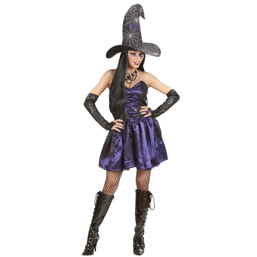Selena the witch dress and hat for adults punanaamio.fi