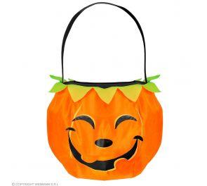 Oranssi kurpitsa-laukku