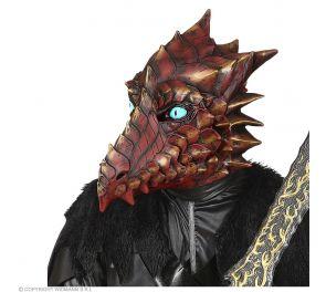 Horror Dragon -lohikäärmenaamari, lateksia