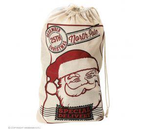 Joulupukin juuttisäkki