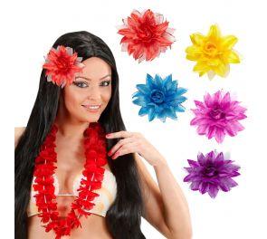 Hiuskukka sopii havaiji-teemaan