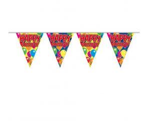 Värikäs lippusiima syntymäpäiväjuhliin!