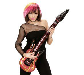Puhallettava kitara, liekki
