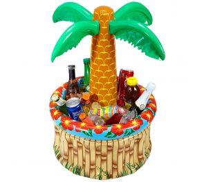 Puhallettava Palmu-cooler kesäjuhliin