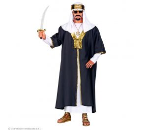 Sulttaani-naamiaisasu ja päähine
