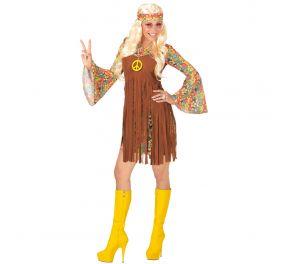 Värikäs hippimekko aikuiselle