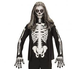 Luuranko-paita aikuisille halloween-asuksi