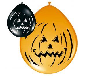 Kurpitsa-ilmapallot sopivat loistavasti Halloweeniin!