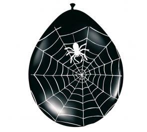 Ilmapallot hämähäkinseitti kuvioinnilla