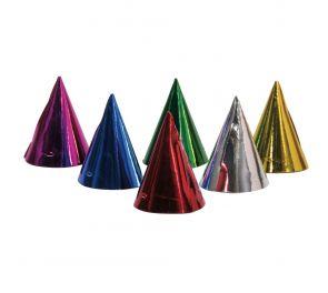 Pahviset iloisen väriset hatut synttäreihin!