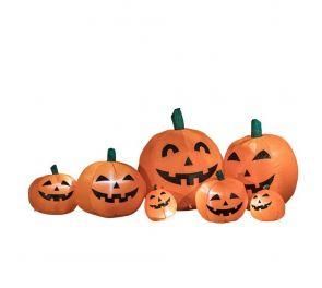 210 cm leveä kurpitsasomiste Halloweeniksi!