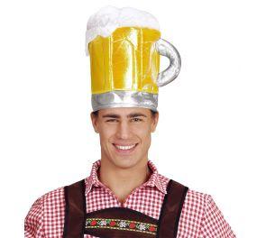 Oluttuoppi-hattu vallattomaan hauskanpitoon