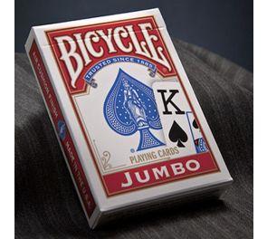 Bicycle® Jumbo Index -pelikortit