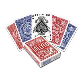 Tally-Ho® Fan Back -pelikortit