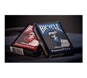 Bicycle® Pro PokerPeek -pelikortit