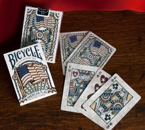 Bicycle® American Flag -pelikortit