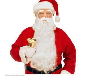 Joulupukin parta ja kulmakarvat