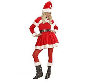 Ihastuttava, punainen joulumekko