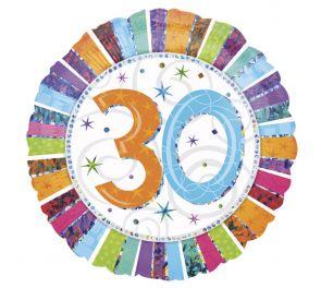 Syntymäpäivä foliopallo 30