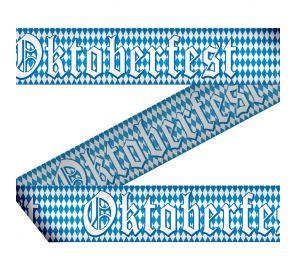 Oktoberfest-nauha sopii olutjuhlien koristeeksi