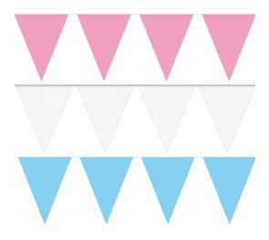 Hempeän väriset lippusiimat juhlaan kuin juhlaan!