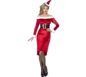 Glamour Christmas Lady