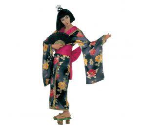 Musta kimono geishalle