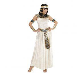 Valkoinen Cleopatra-mekko