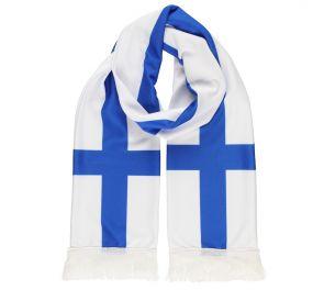 Suomi-kaulahuivi fanimeininkiin