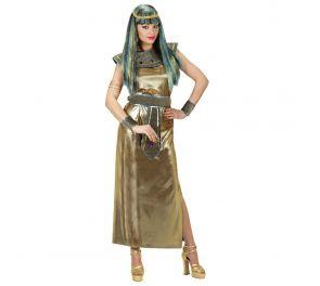 Kultainen mekko koristeilla Kleopatralle