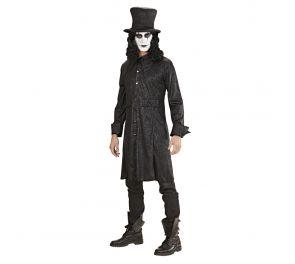 Musta Raven-takki halloweeniin