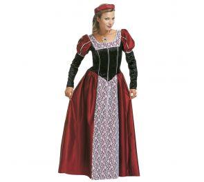 Pitkä mekko linnanneidolle