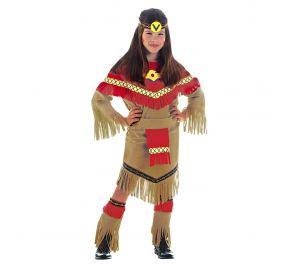 Täydellinen asu intiaanitytölle sisältää myös päänauhan