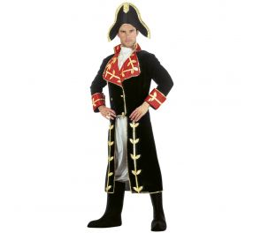Tyylikäs Napoleon-naamiaisasu hallitsijalle