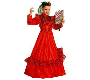 Lasten ihastuttava punainen mekko sopii monille hahmoille