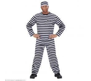 Vanki-naamiaisasu sisältää housun, paidan sekä hatun