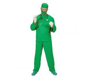 Vihreä kirurgin asu aikuisille