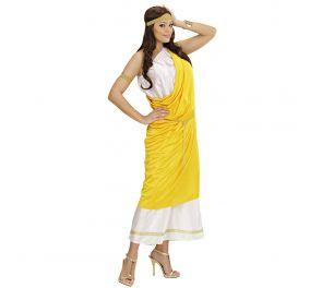 Ihastuttava tooga-mekko roomalaiseen tyyliin