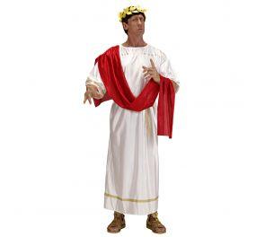 Aikuisten valkoinen tooga roomalaiseen menoon