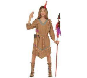 Cheyenne-intiaanityttö