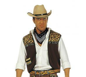 Cowboy-liivi + bandanahuivi