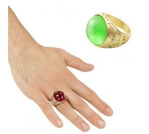 Kaunis sormus sopii taikurille, merirosvolle ja vaikkapa noidalle!