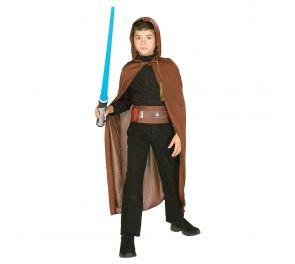 Jedi-tuotesetti lapsille sisältäen viitan, vyön ja valomiekan