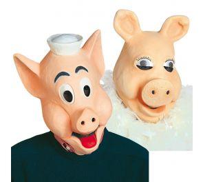 Herra ja rouva Porsuli -naamarit