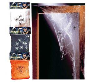 Hämähäkinseitti halloween- ja kummitustalo-teemaan