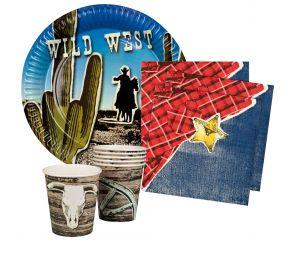 Wild West -kattaustarvikkeet