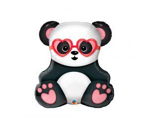 Lovestruck Panda Bear -foliopallo