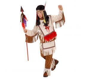 Cherokee-intiaanipoika