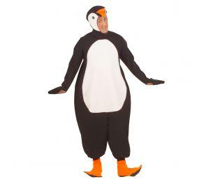 Hauska pingviini-haalari aikuisille